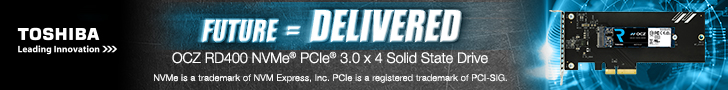 OCZ RD400 M.2 NVMe SSD