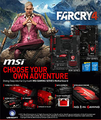 MSI limited farCray 4 offer