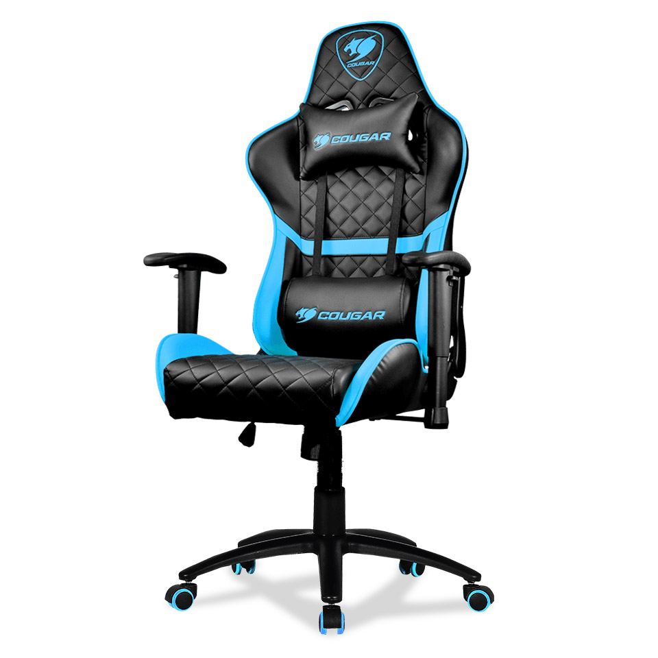 Cougar - Armor-Gaming-Chair-One-SKY-BLUE - התמונה להמחשה בלבד