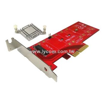 NVMe PCIe M.2 NGFF SSD to PCIe x1 adapter card PCIe x1 to M.2 card with brac Af